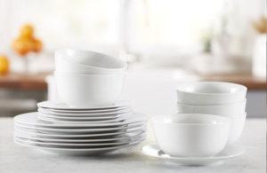 Amazon Basics Dinner Plates