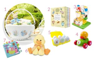 Easter Basket Ideas for Babies and Kids