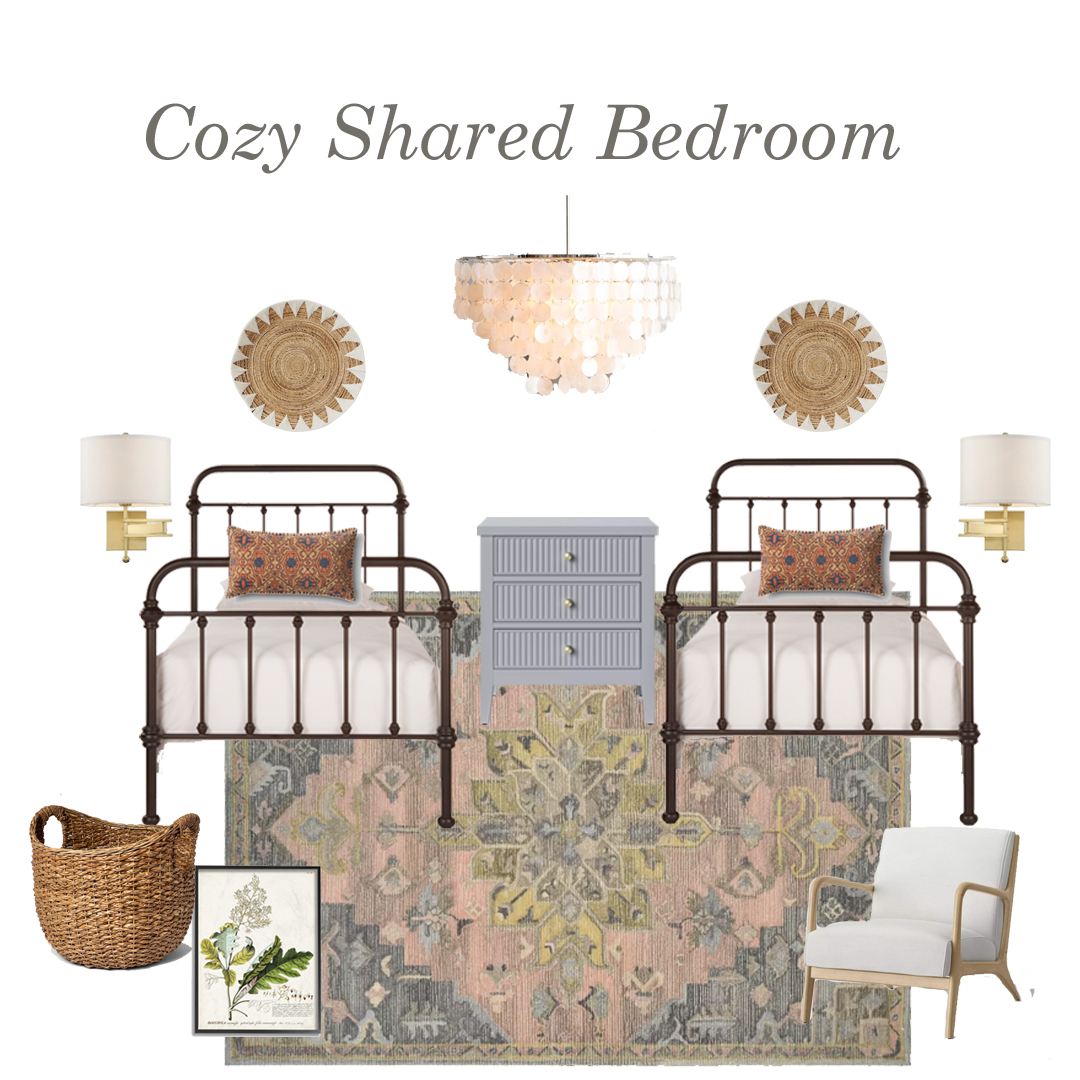 Cozy Shared Bedroom
