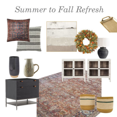 Summer to Fall Refresh